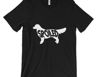 Spoiled Golden Retriever Shirt | Golden Retriever Shirt | Dog Lovers T-Shirt | Dog Breed Shirt | Dog Owner Gift