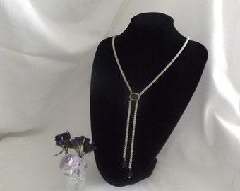 Necklace - Lariat