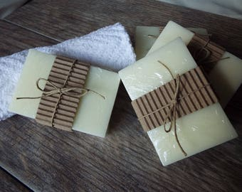 4-Pack All Natural Unscented Goat's Milk Soap