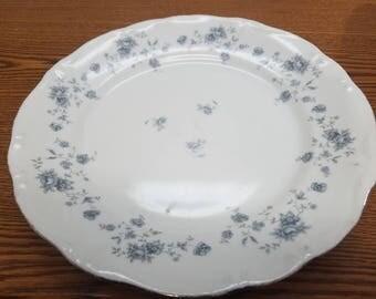 Set of 6 johann haviland blue garland 10 inch dinner plates