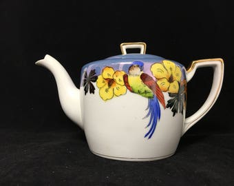 Vintage Noritake Lusterware Tea Pot