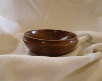 Small black walnut bowl