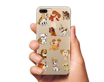Funny Dogs case phone silicone case  rubber case Samsung case iPhone 6 case iPhone 7 csae Samsung S8 case iphone cases cute dog case dog
