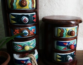 Delightful Chest of drawers in ceramic