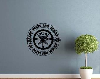 Home Repair Logo Etsy - Custom vinyl wall decals for garage