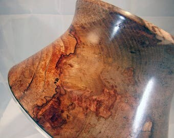 """Spalted Pecan Bowl (7.5""""x4"""")"""