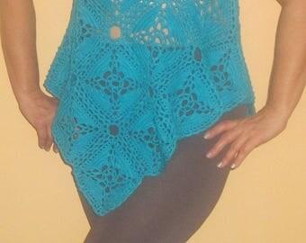 summer chrochet knitting top