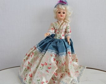 Marie Antoinette Vintage Doll/ Peek A Boo/