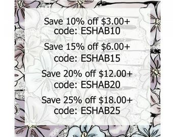 COUPON CODES! Do Not Buy This Listing.