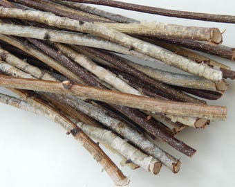 Birch branches 40 pcs, birch tree decor, natural branch, wooden twigs, Craft sticks, decorative birch, birch wood decor, tree branch wedding