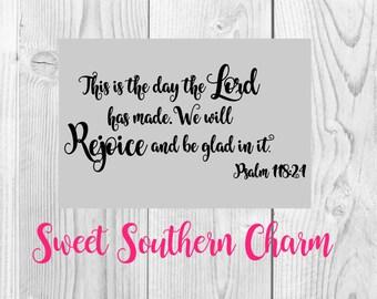 psalm 118 svg - bible verse svg - svg file - svg files - verse svg file - verse cutting file - bible verse svg files - psalms svg files