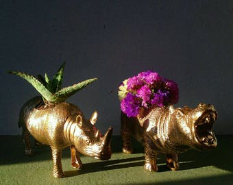 Mini animal pots