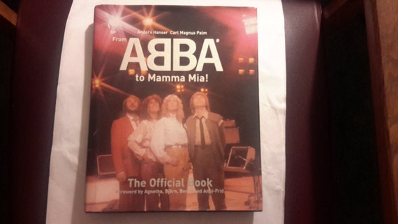 from Abba to mamma Mia coffee table hardcover book 1999