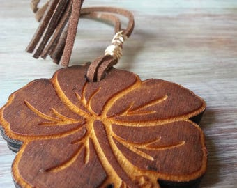 Dogon Magic Wooden Statement Laser Cut Necklace
