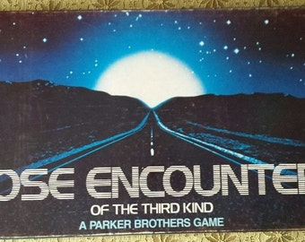 Close Encounters of the Third Kind board game by Parker Brothers from 1978