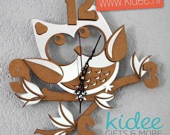 Children's Clock Owl