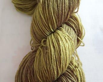 Hand-dyed sock yarn