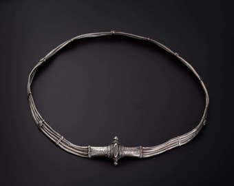 A silver belt Kerala India 19th Century