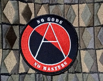 NEW! No Gods No Masters (glow in the dark)