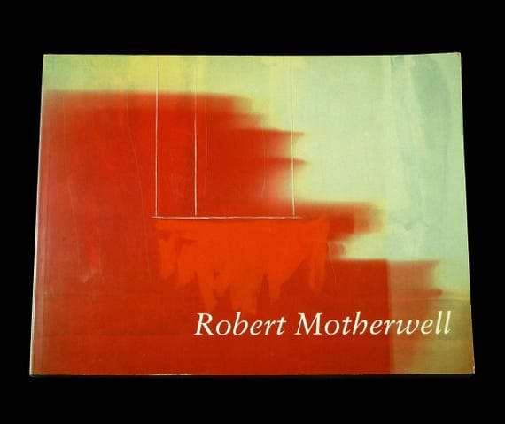 Robert Motherwell - book prepared for his 1984-1985 touring exhibition paintings