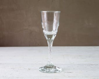 Vintage Cordial Glass-Food Photography Props