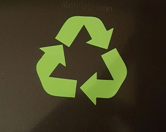 Recycle Symbol Decal