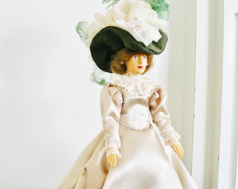 Vintage Doll Victorian Lady Collectable Item