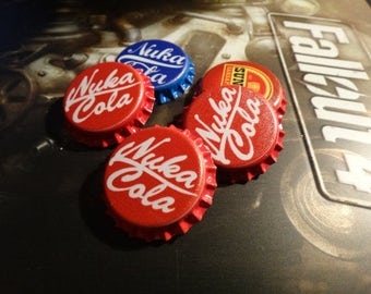 High quality NUKA COLA CAPS Magnets