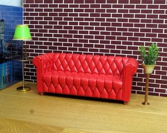Sofa for dolls, Monster High, OOAK, Barbie