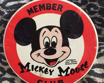 Mickey Mouse Member Club pin