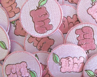 Gummy Bear Iron-On Embroidered Patch