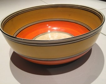 A Clarice Cliff 1930's fruit bowl unsigned