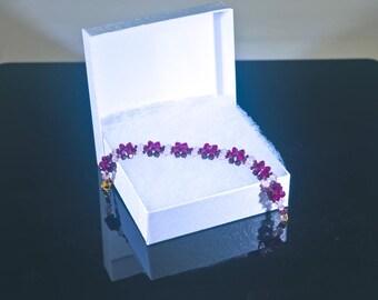 Swarovski Crystal Rose Bracelet