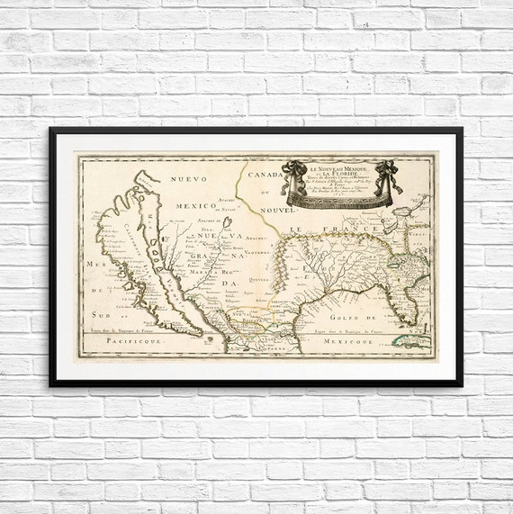 Large Map Posters California Map Old US Maps Antique US - Old us map and pics
