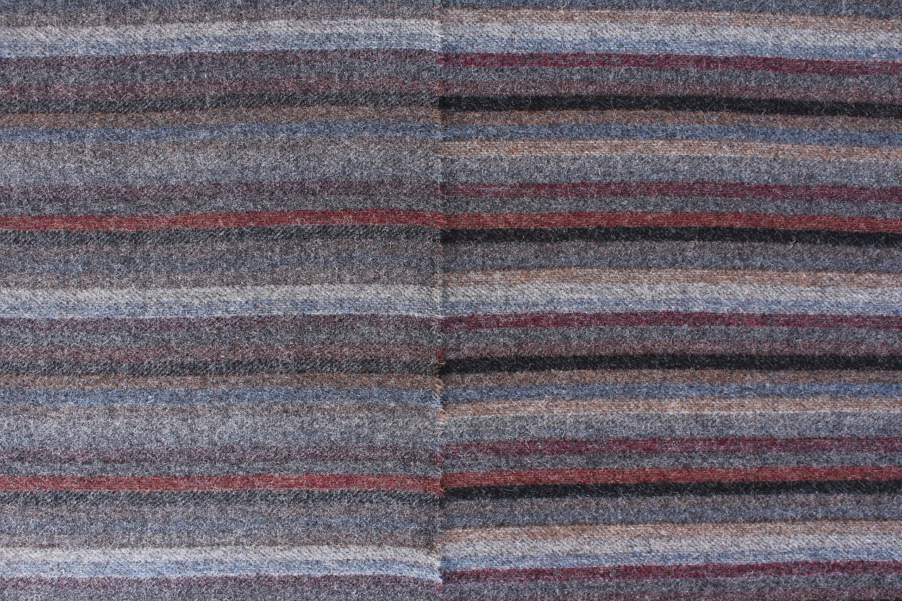 Lollipop Farm Reversible Stripe, Felted Wool Fabric For Rug Hooking, Wool  Applique And Crafts