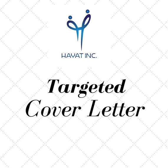 targeted cover letter professional