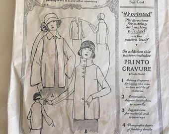 Vintage McCall dress pattern 3209, Ladies Suit Coat size 36