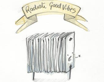 Radiate good vibes!