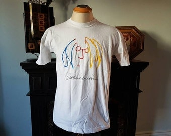 Vintage John Lennon Imagine Shirt Size L **SCREEN STARS**