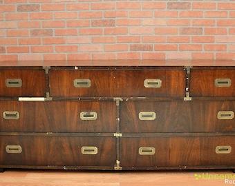 SOLD! 1970's Campaign Dresser Lane Henredon SOLD!