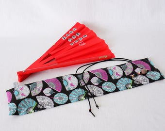 Fan bag, Bestprice, hand fan, Taichi, KungFu, handmade, birthday present, unique
