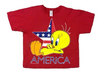 Vintage Tweety Bird America Shirt
