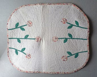 Small piecework quilt