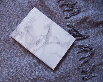 Marble notebook (also available in Nude and Textile color)