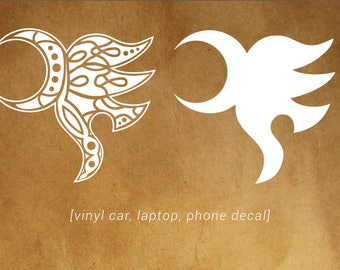 Yawe (elf friend) decal - car, laptop, phone vinyl decal - Eragon and Inheritance Cycle Fans!