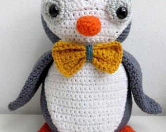 amigurumi pattern penguin