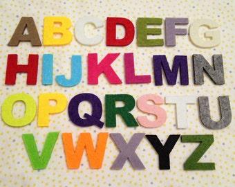 Felt Alphabet - 26pcs