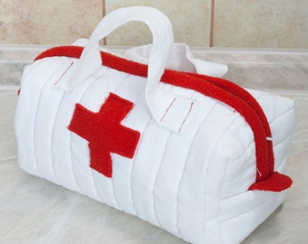 Toy medical bag