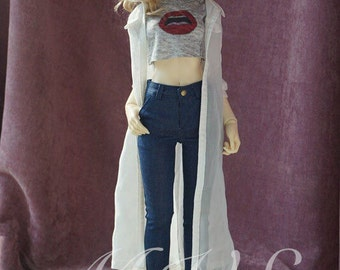 BJD Clothes Skinny Jeans for SD/DD,in 2 colors