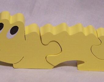 Alligator Wooden Puzzle
